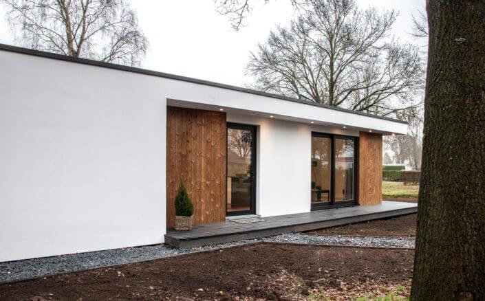Recreatiewoning bouwen moderne houten recreatiewoningen for Vakantiehuis bouwen