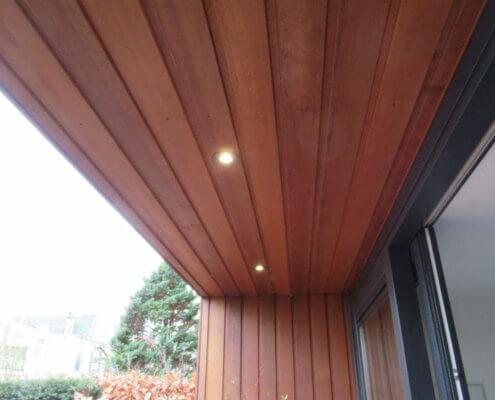 praktijkruimte van hout