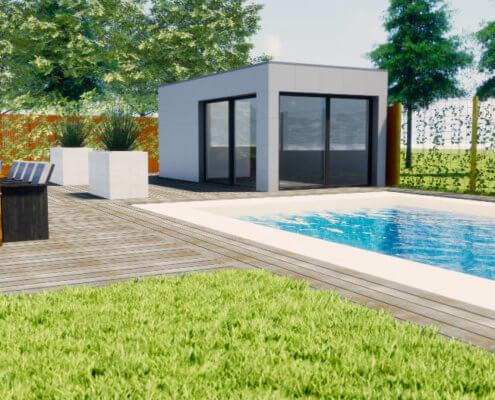 poolhouse ontwerpen